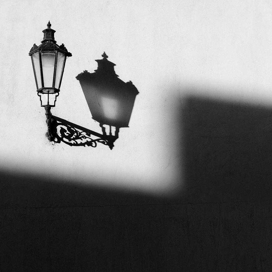 Lamp Photograph - Light Shadow by Dave Bowman