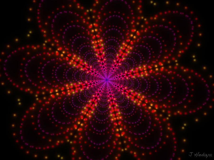 Light Show Abstract 4 Photograph by Joseph Hedaya