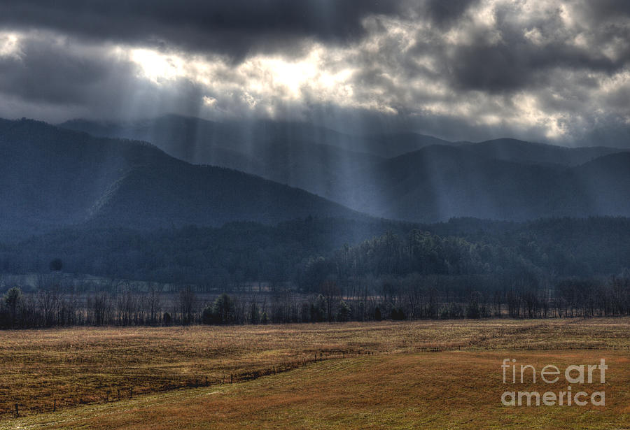 Sunlight Photograph - Light Shower by Douglas Stucky