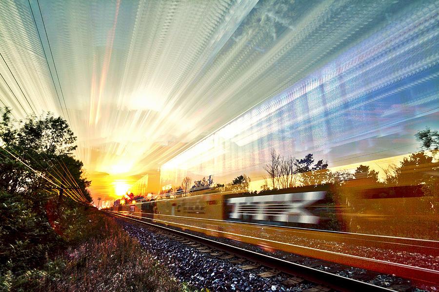 Matt Molloy Photograph - Light Speed by Matt Molloy