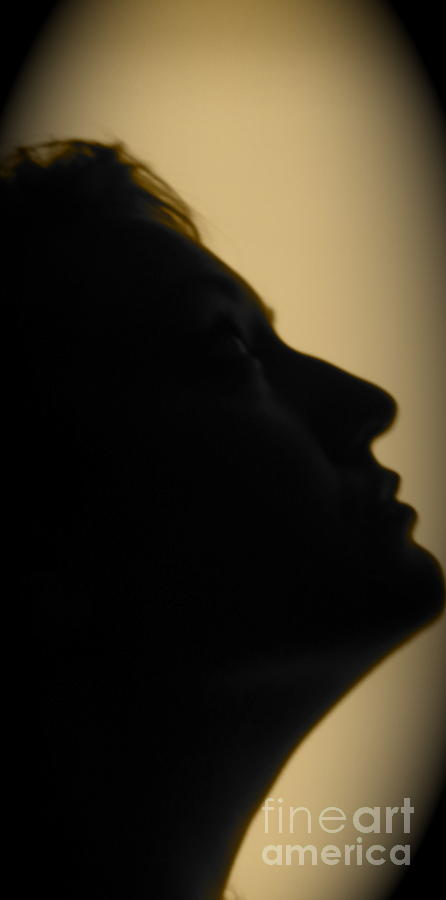 Self Portrait Photograph - Light Study Sp 2 by Ashley Ordines