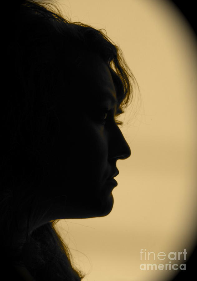 Silhouette Photograph - Light Study Sp by Ashley Ordines