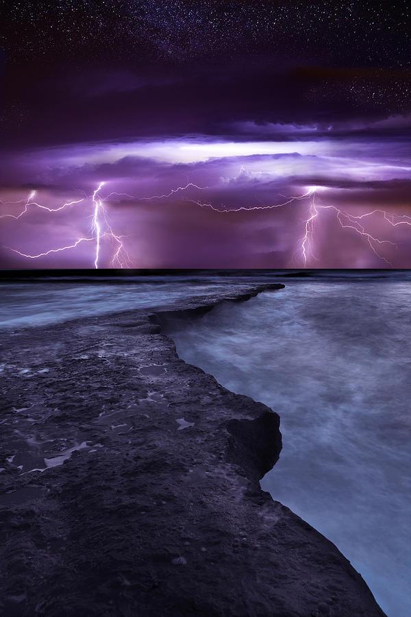Landscape Photograph - Light Symphony by Jorge Maia