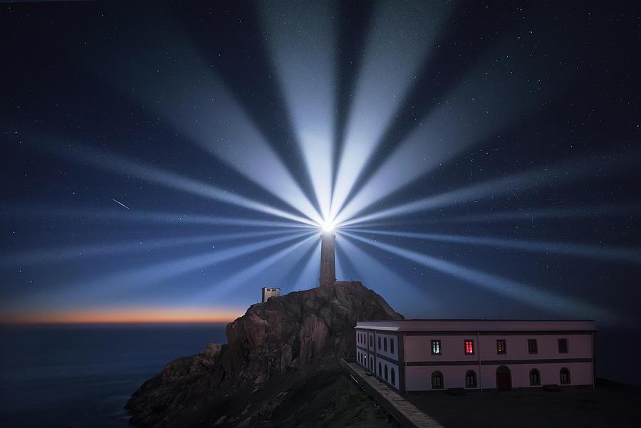 Night Photograph - Light The Night by Carlos F. Turienzo