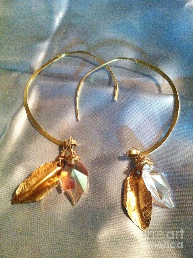 Earrings Jewelry - Light Thru Leaves by Tina Beal