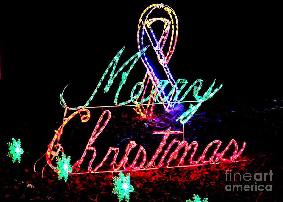 Christmas Lighted Sign.Lighted Merry Christmas Sign