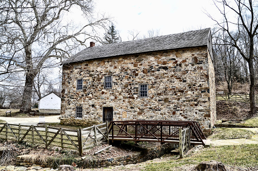 Mill Photograph - Lightfoot Mill At Anselma Chester County by Bill Cannon