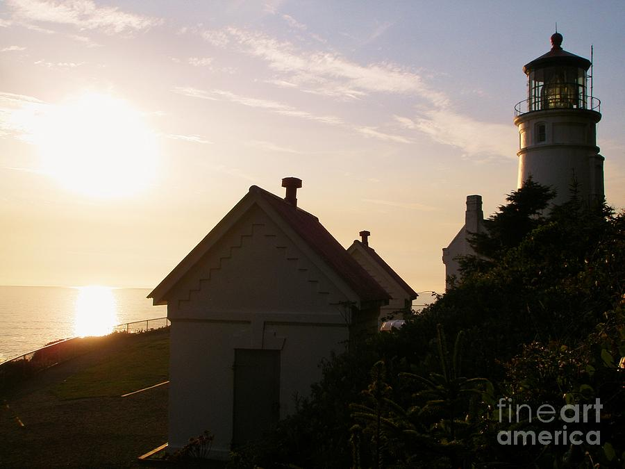 Lighthouse at Heceta Head by Liz Snyder