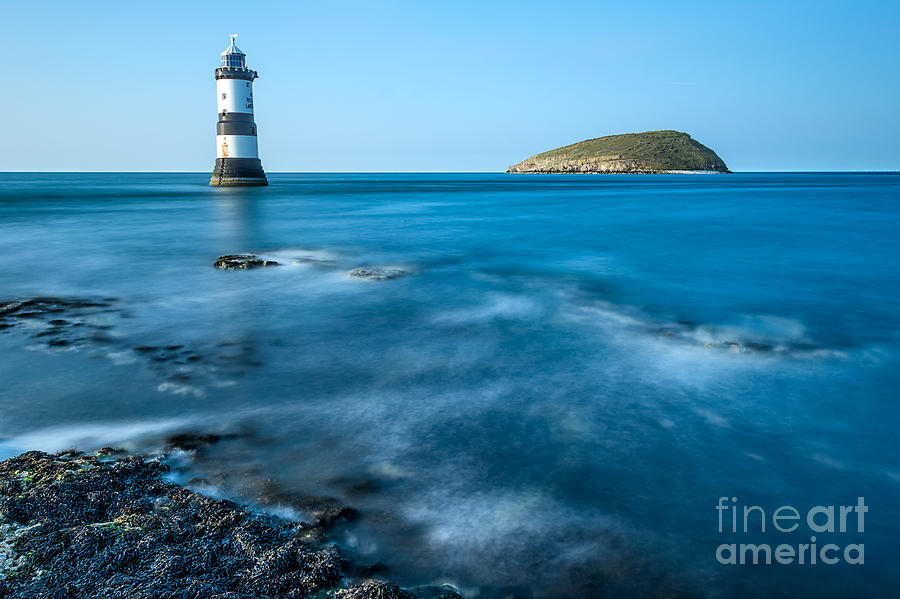 Anglesey Photograph - Lighthouse At Penmon Point by Adrian Evans
