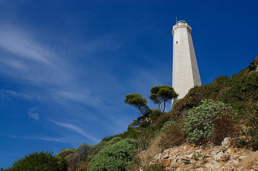 Lighthouse At Saint-jean-cap-ferrat France French Riviera Photograph