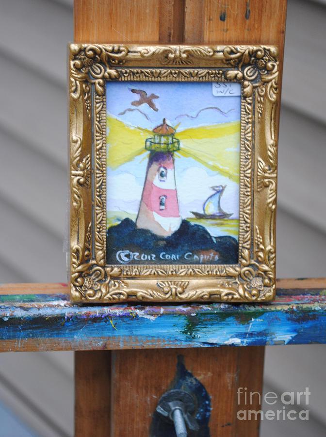 Lighthouse Painting - Lighthouse by Cori Caputo
