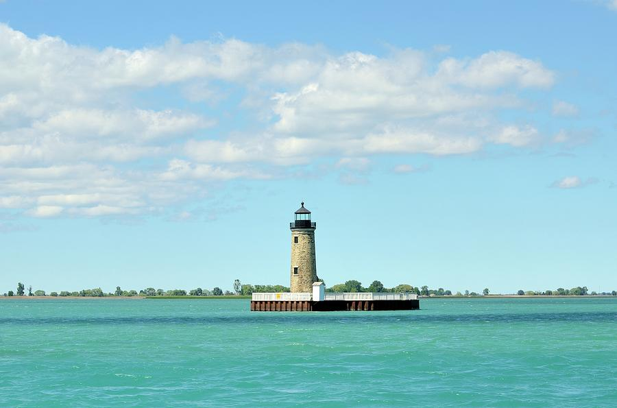 Lighthouse Lake St. Clair Photograph by Rivernorthphotography