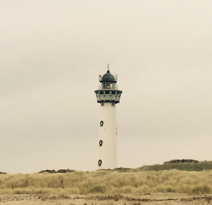 Landscape Photograph - Lighthouse Netherlands by Photosaslt Shop