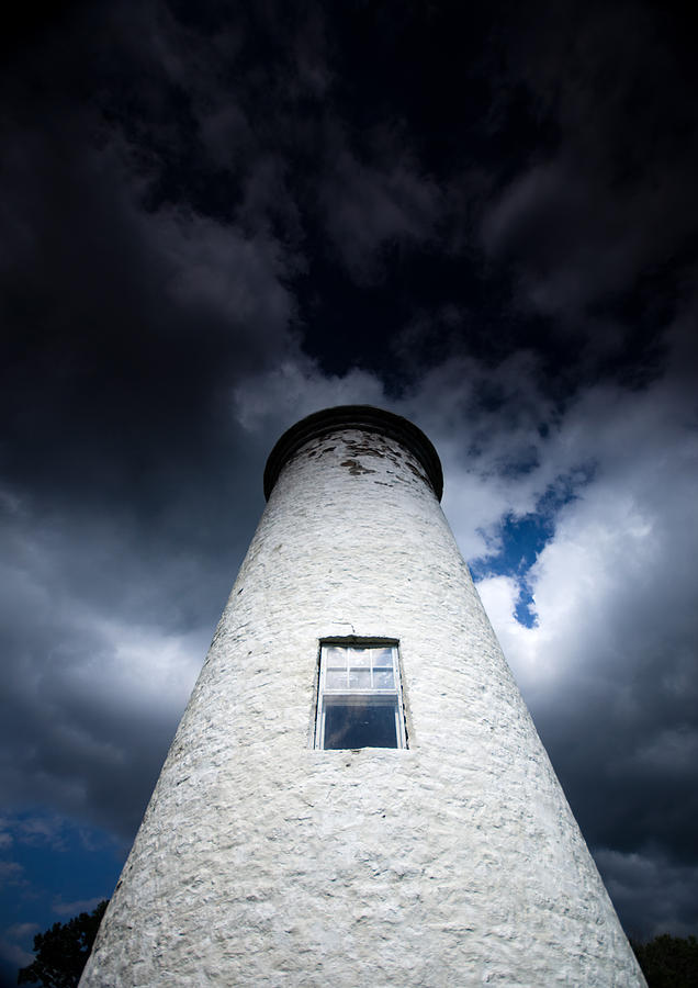 Lighthouse Photograph - Lighthouse On Boblo Island by Cale Best