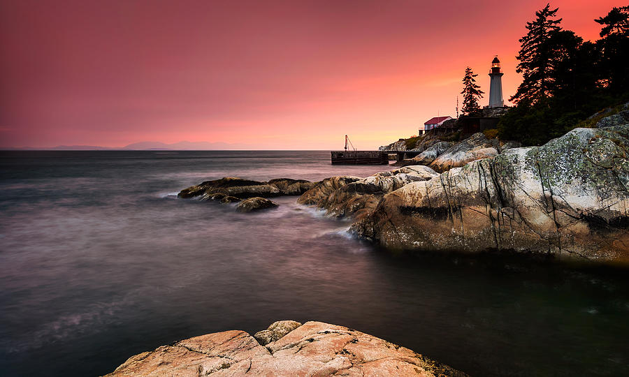 Landscapes Photograph - Lighthouse Park by Alexis Birkill
