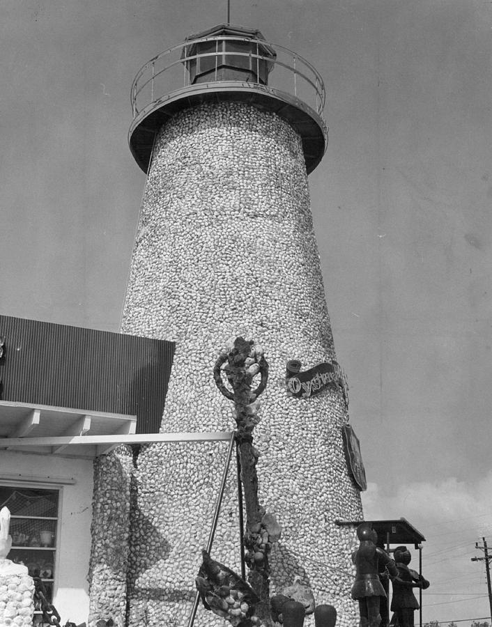 Rare Photograph - Lighthouse by Retro Images Archive