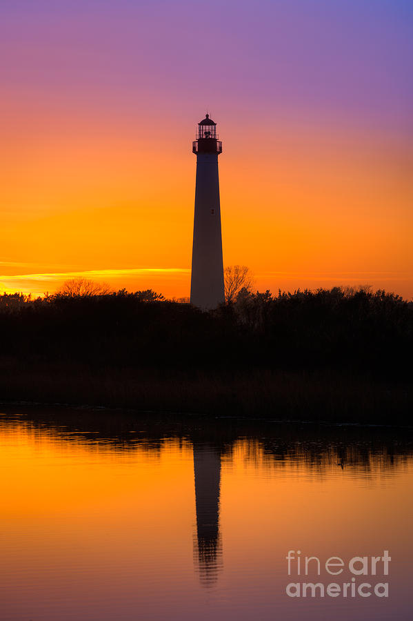 Lighthouse Photograph - Lighthouse Silhouette by Michael Ver Sprill