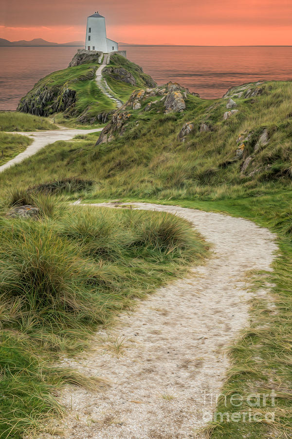 Anglesey Photograph - Lighthouse Trail by Adrian Evans