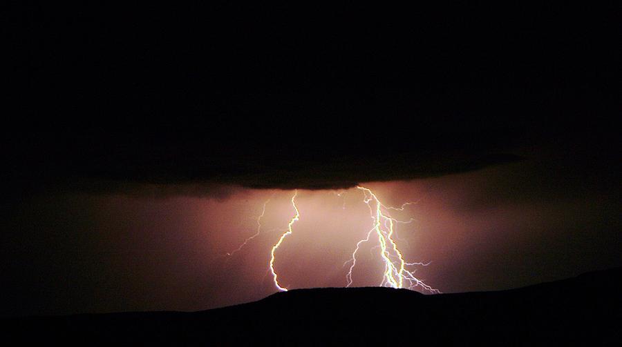Lightning Photograph - Lightning Dancing by Jeff Swan
