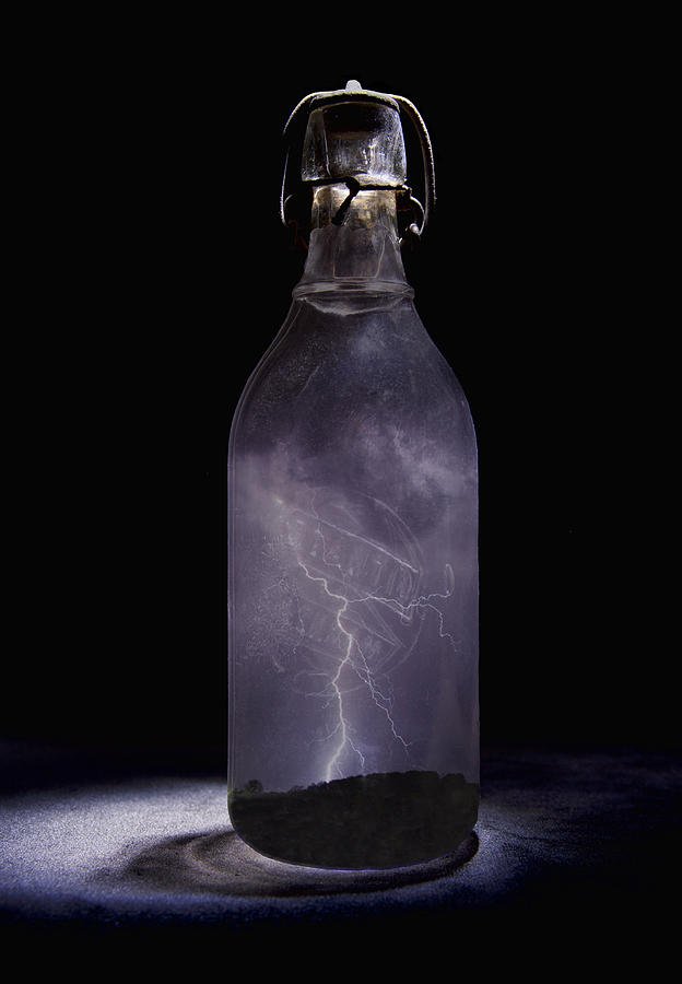 Lightning Photograph - Lightning in a Bottle by John Crothers