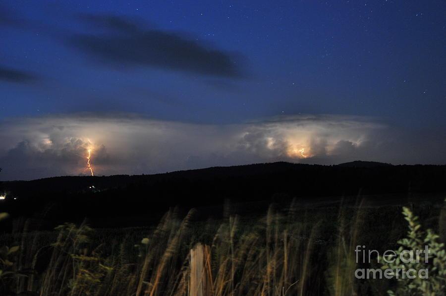 Lightning Pyrography - Lightning by Richard Macintyre