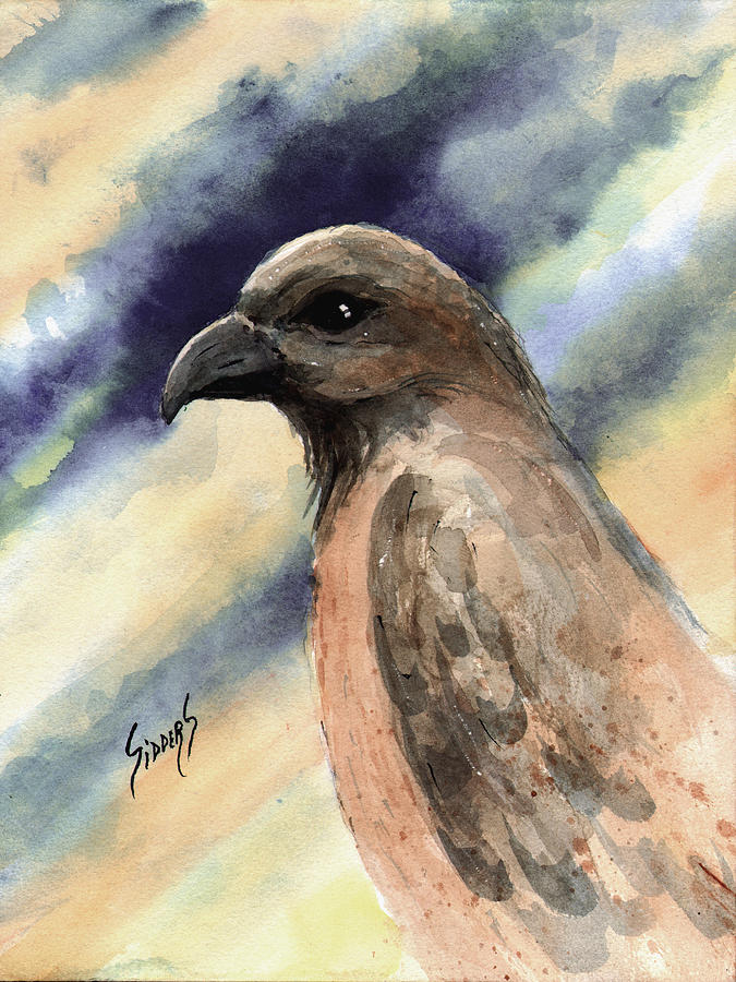 Bird Painting - Lightning by Sam Sidders