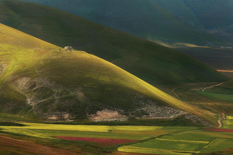 Landscape Photograph - Lights And Shadows by Edoardo Gobattoni