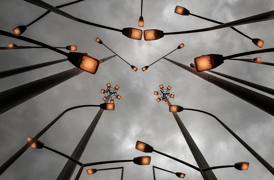 Creative Edit Photograph - Lights by Jure Kravanja