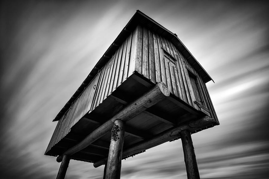 Monochrome Photograph - Lightshed by Alexis Birkill