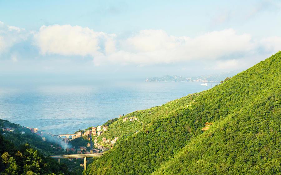 Ligurian Landscape Photograph by Spooh