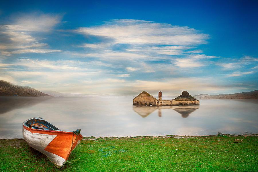 Lake Photograph - Like A Dream by Okan YILMAZ