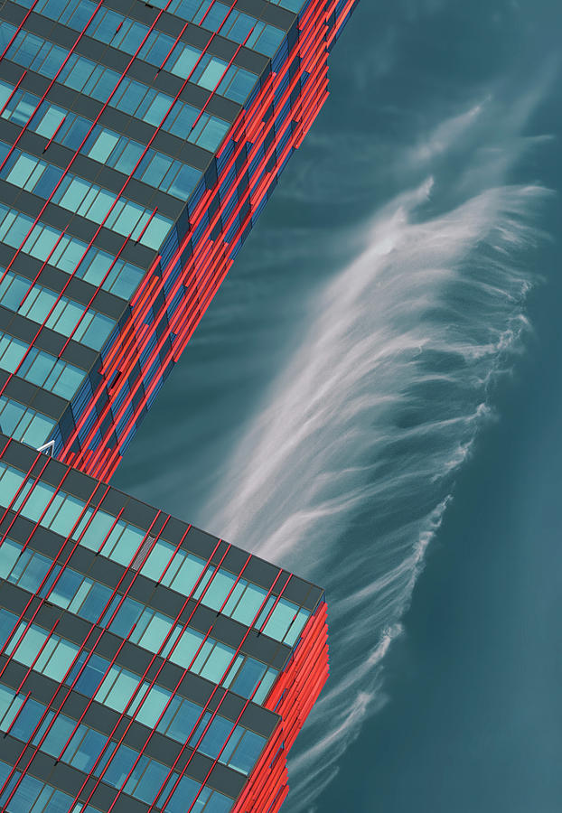 Architecture Photograph - Like A Feather In The Air. by Greetje Van Son