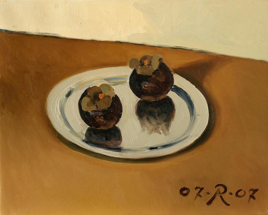 Like Karamel -Ice-Cream Painting by Raimonda Jatkeviciute-Kasparaviciene