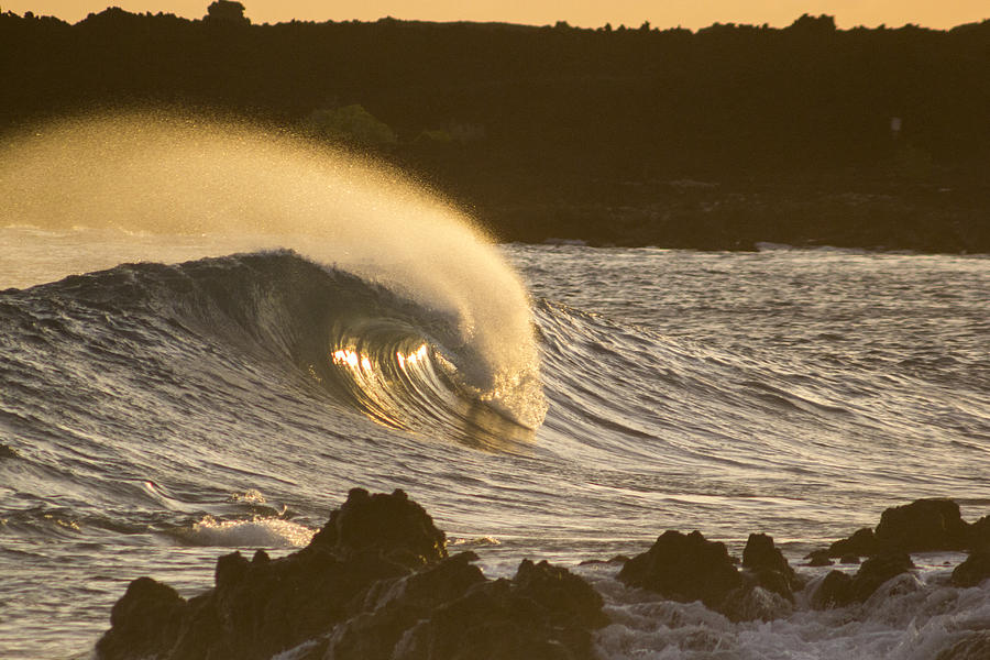 Nature Photograph - Like Lava by Brad Scott