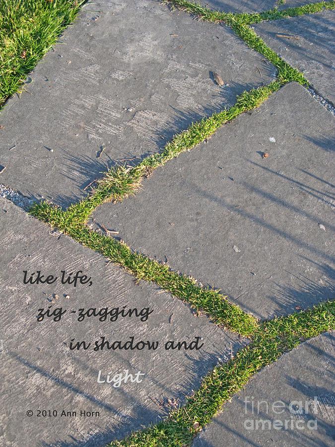 Path Photograph - Like Life by Ann Horn