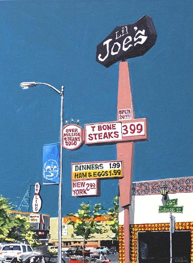 Sacramento Painting - Lil Joes by Paul Guyer