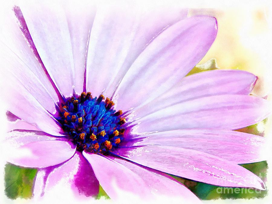 Lilac Flower Digital Art