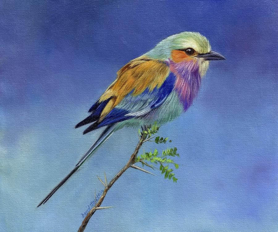 Lilacbreasted Roller Painting