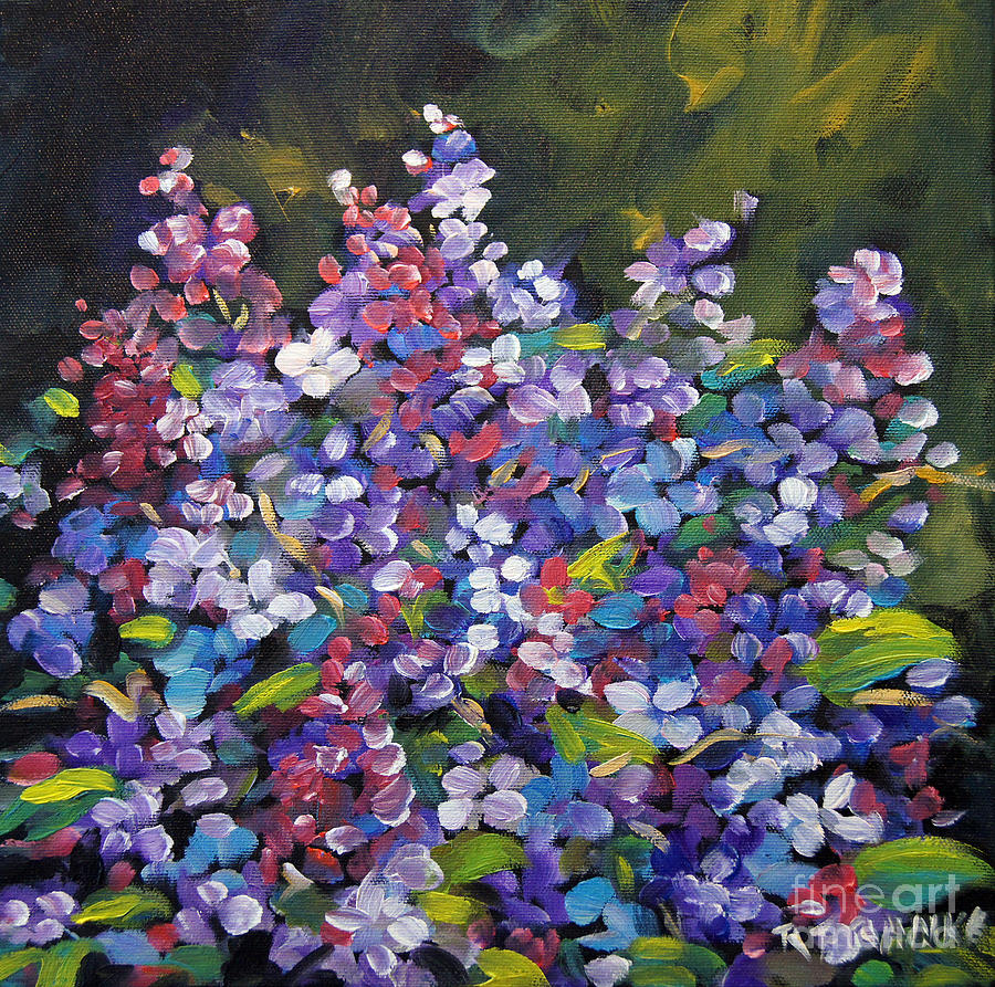 Lilac Flowers Painting - Lilac_burst_by_prankearts by Richard T Pranke