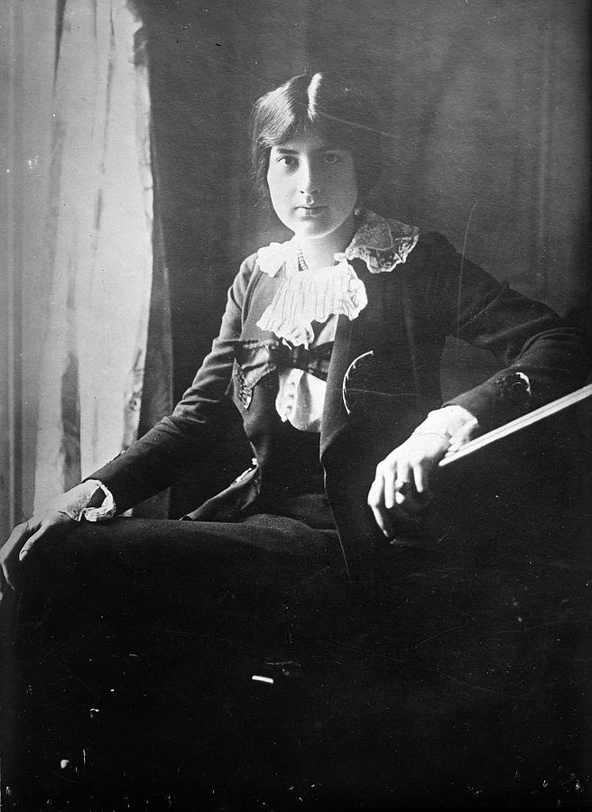 1918 Photograph - Lili Boulanger (1893-1918) by Granger