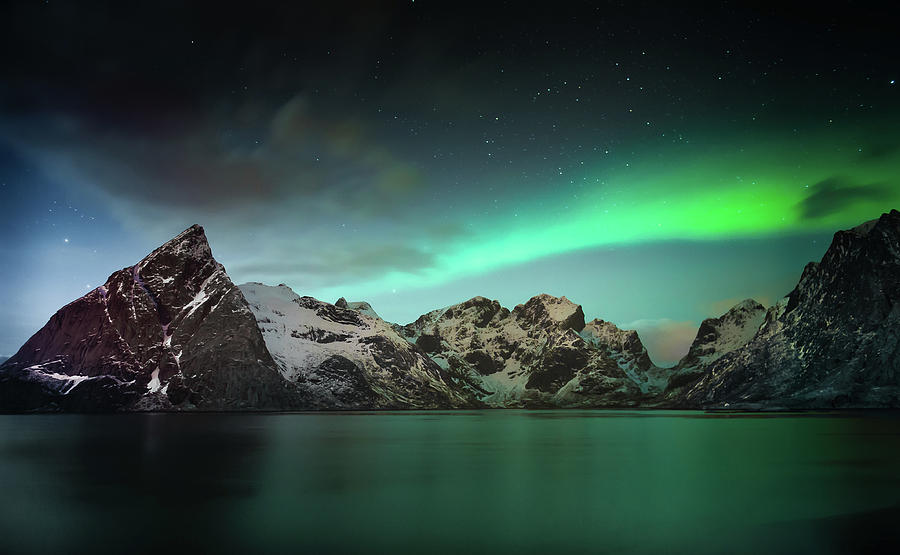Norway Photograph - Lille Toppa??ya by Hilde Ghesquiere