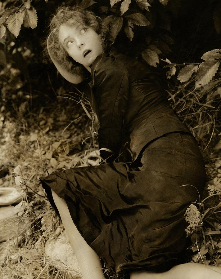 Lillian Gish As The Harlot In Within The Gates Photograph by Edward Steichen