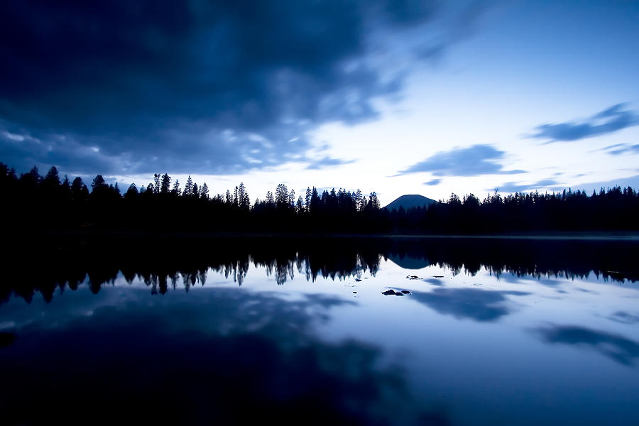 Blue Photograph - Lilly Lake by Darryl Wilkinson