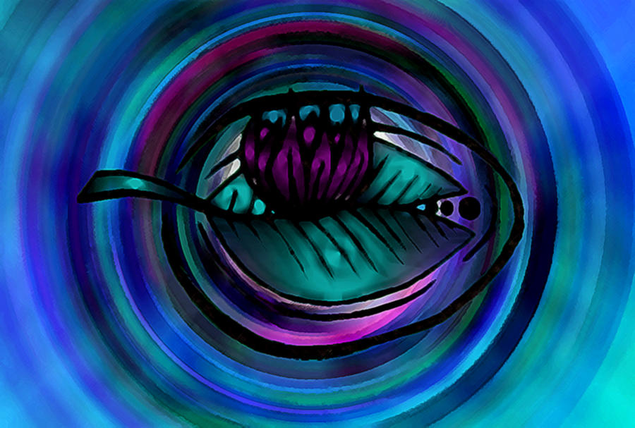 Lilly Digital Art - Lilly Pad by Josephine Ring