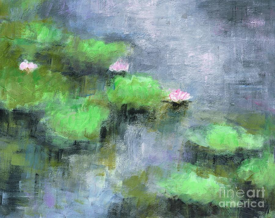 Flowers Painting - Water Lillys  by Frances Marino