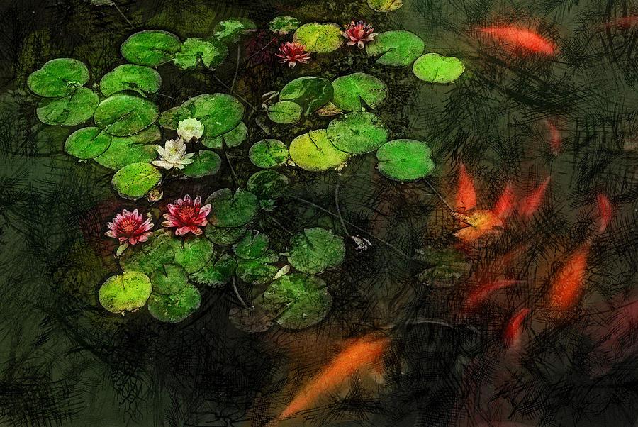 Asia Digital Art - Lily 0147 - Lux Sl by David Lange