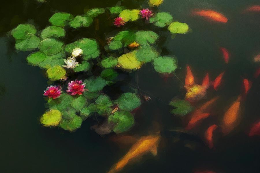 Asia Digital Art - Lily 0147 - Neo by David Lange