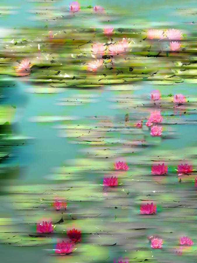 Lily Pond Photograph - Lily Pond Impressions by Jessica Jenney