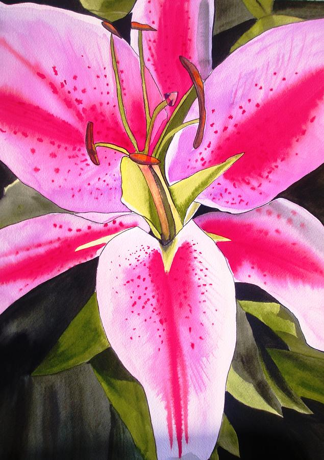 Lily Painting - Lily Tenerife by Sacha Grossel