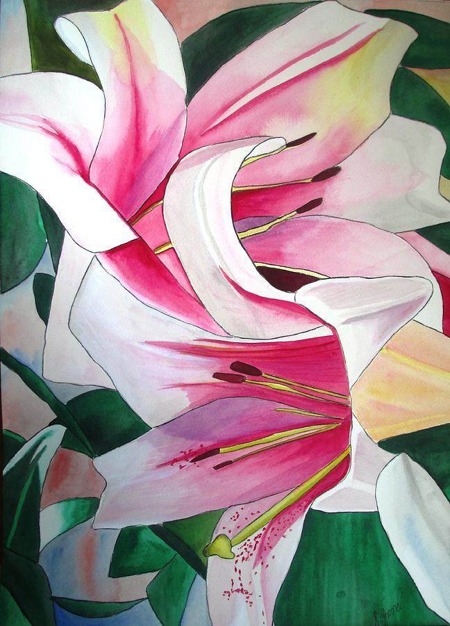 Lily Painting - Lily Triumphator by Sacha Grossel